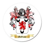 McGrane Round Car Magnet