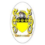 McGranahan Sticker (Oval 50 pk)