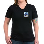 McGovern Women's V-Neck Dark T-Shirt