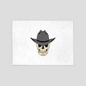 Cowboy Skull 5'x7'Area Rug