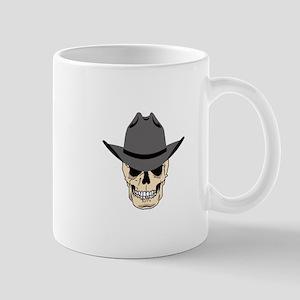 Cowboy Skull Mugs