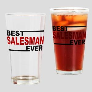 Best Salesman Ever Drinking Glass