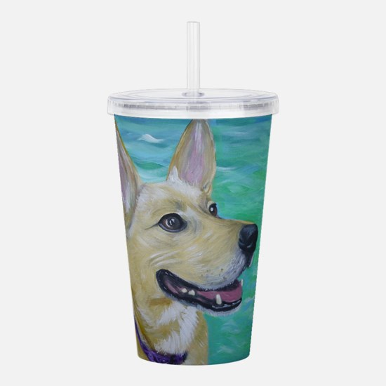 Lilly Acrylic Double-wall Tumbler