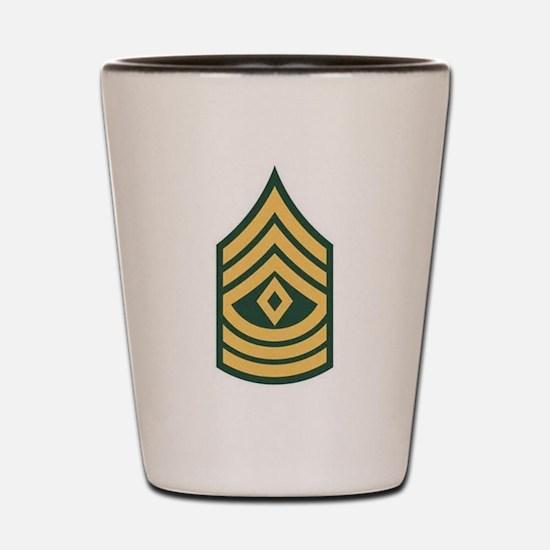 1st Sergeant Shot Glass