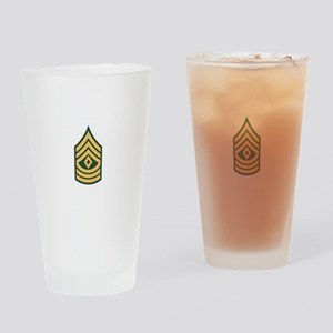 1st Sergeant Drinking Glass