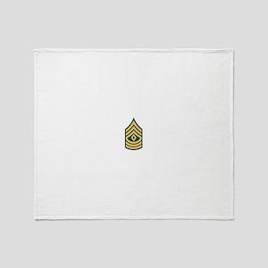 1st Sergeant Throw Blanket