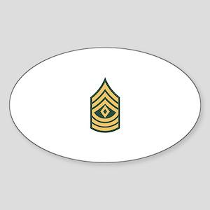 1st Sergeant Sticker