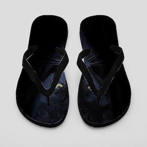 b09e51a2c552c Thongs. Black Panther Flip Flops