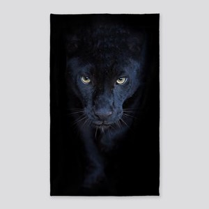 Black Panther Area Rug