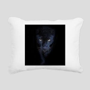 Black Panther Rectangular Canvas Pillow