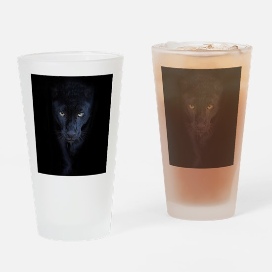 Black Panther Drinking Glass