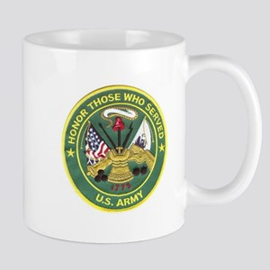 Honor Those Who Served Army Mugs