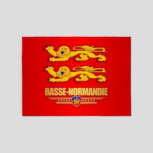 Bassse-Normandie 5'x7'Area Rug
