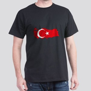 Turkish Flag Silhouette T-Shirt