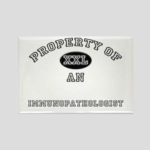 Property of an Immunopathologist Rectangle Magnet