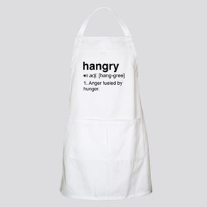 Hangry definition Light Apron