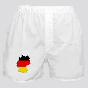 German Flag Silhouette Boxer Shorts
