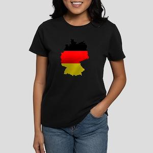 German Flag Silhouette T-Shirt
