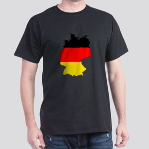 German Flag Silhouette T-Shirt