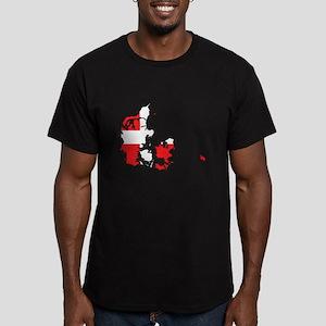 Danish Flag Silhouette T-Shirt
