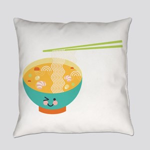 Winking Bowl Everyday Pillow