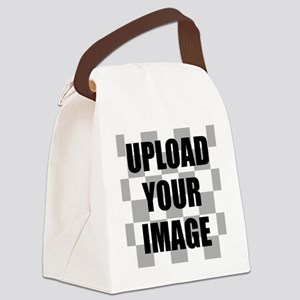 Upload Your Image Canvas Lunch Bag