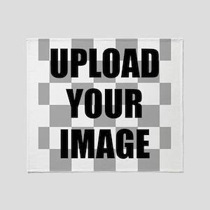 Upload Your Image Throw Blanket