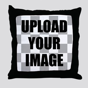 Upload Your Image Throw Pillow