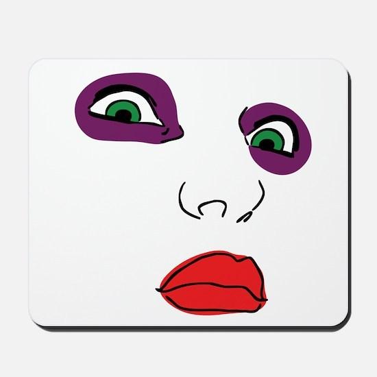 PALE FACE Mousepad