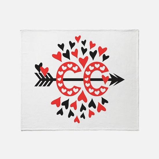Cross Country Love Throw Blanket