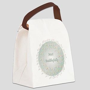 Most Buddhafully 3a Canvas Lunch Bag