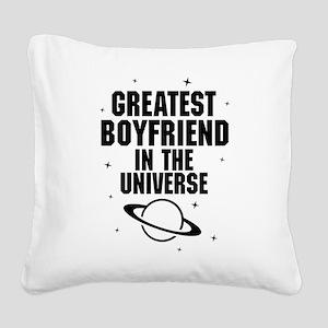 Greatest Boyfriend In The Universe Square Canvas P