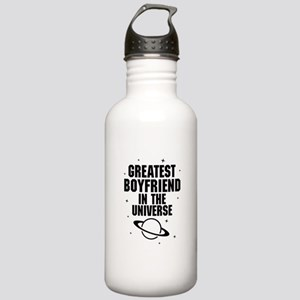 Greatest Boyfriend In The Universe Water Bottle