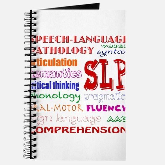 SLP Colorful Fun Font Journal