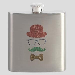 christmas hipster nerd Flask
