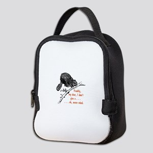 Frankly, my dear, I don't give Neoprene Lunch Bag