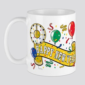 New Year's Party Mug