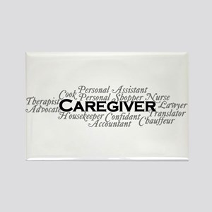 Caregiver Rectangle Magnet Magnets