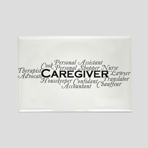 Caregiver Rectangle Magnet Magnets