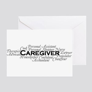 Caregiver Card Greeting Cards
