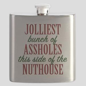 Jolliest Bunch Flask