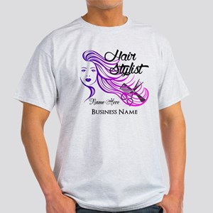 Hair Stylist Custom Light T-Shirt