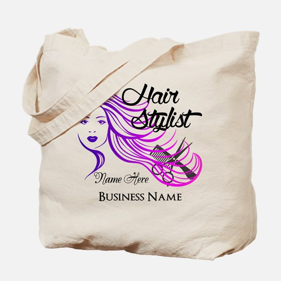 Hair Stylist Custom Tote Bag
