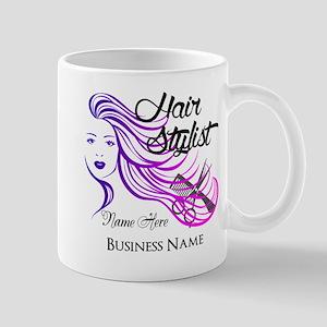 Hair Stylist Custom Mug
