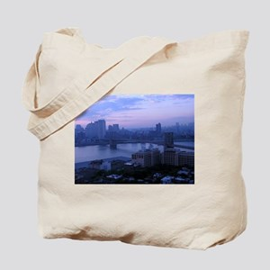 Brooklyn Bridge & River Tote Bag