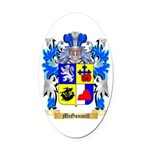 McGonnell Oval Car Magnet