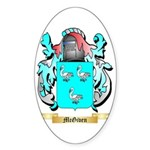 McGiven Sticker (Oval 50 pk)