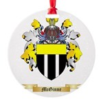 McGinne Round Ornament