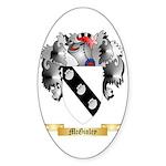 McGinley Sticker (Oval 50 pk)