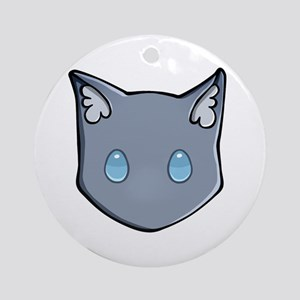 Chibi Bluestar Round Ornament